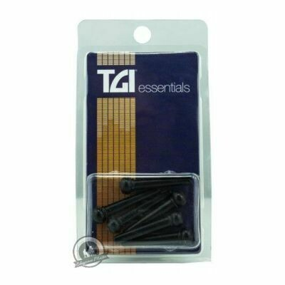 TGI Bridge Pins - Plastic Black with Dot