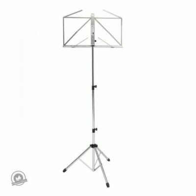 Kinsman Deluxe Music Stand with Bag Chrome