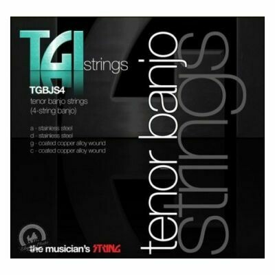TGI Strings Banjo 4 String Tenor SET