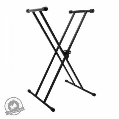 On-Stage Classic Double-X Keyboard Stand