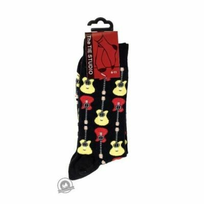 Socks - Acoustic Guitars - Black (Size 6-11)