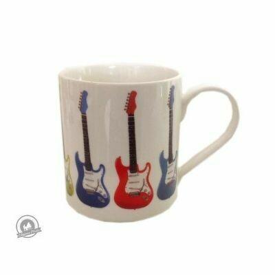 Fine China Mug - Allegro - Electric Guitar