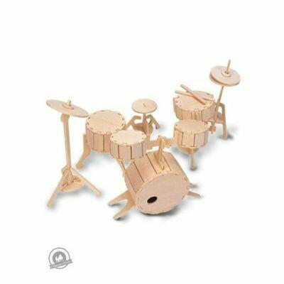 Quay Woodcraft Construction Kit Drums
