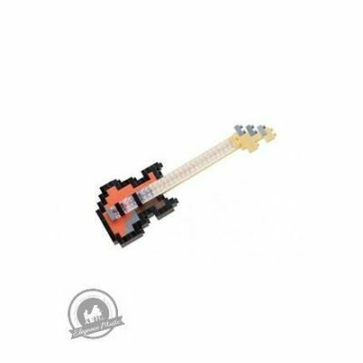 Nanoblock Electric Bass Guitar
