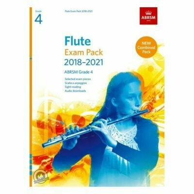 ABRSM Flute Exam Pack Grade 4 2018-2021