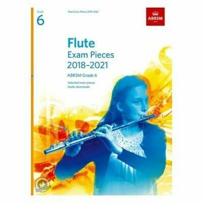 ABRSM Flute Exam Pieces Grade 6 2018-2021