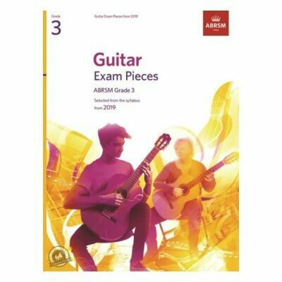 ABRSM Guitar Exam Pieces From 2019 - Grade 3 (Book Only)