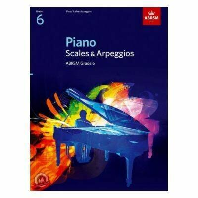 ABRSM Piano Scales & Arpeggios, Grade 6