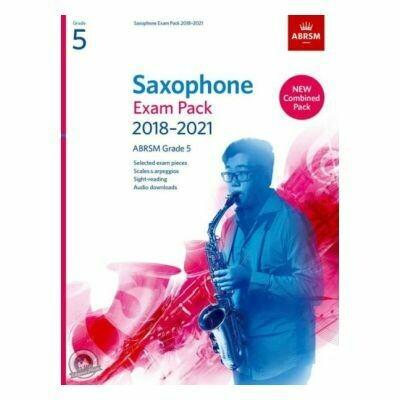 ABRSM Saxophone Exam Pack Grade 5 2018-2021