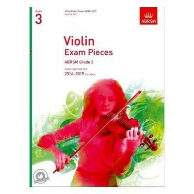 ABRSM Violin Exam Pieces 2016-2019 Grade 3 (Book with Part)