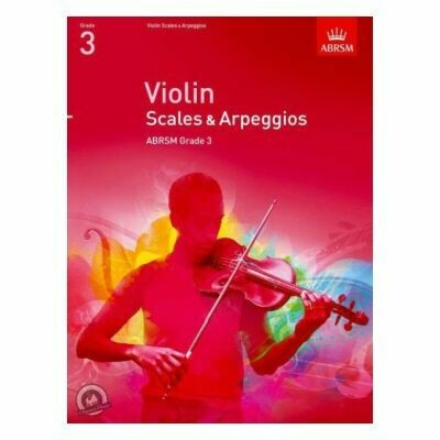 ABRSM Violin Scales & Arpeggios Grade 3 (from 2012)