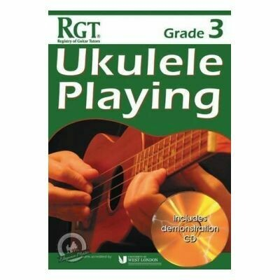 RGT Ukulele Playing Grade 3