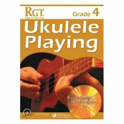 RGT Ukulele Playing Grade 4