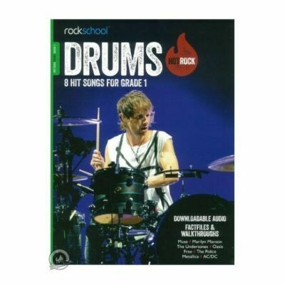 Rockschool Hot Rock Drums - Grade 1