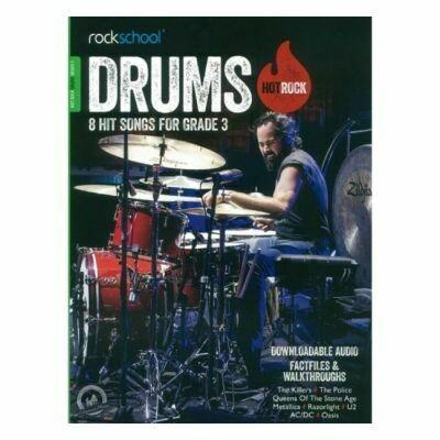 Rockschool Hot Rock Drums - Grade 3