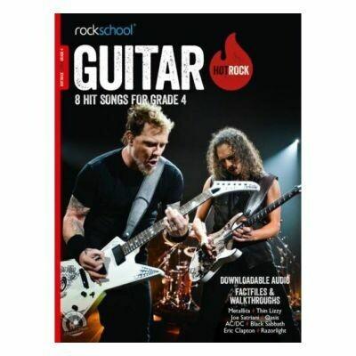 Rockschool Hot Rock Guitar - Grade 4