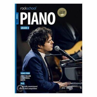 Rockschool Piano - Grade 8 2015-2019