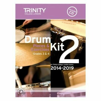 Trinity Drum Kit 2014-2019 Book 2 + CD