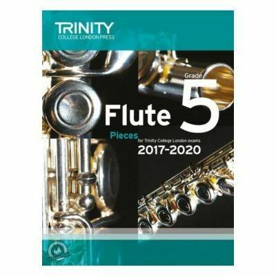 Trinity Flute Exam Pieces Grade 5, 2017-2020 (Score & Part)