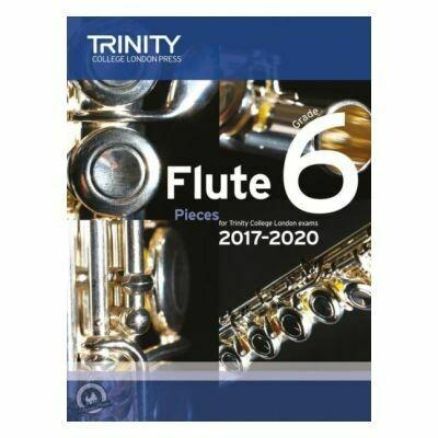 Trinity Flute Exam Pieces Grade 6, 2017-2020 (Score & Part)