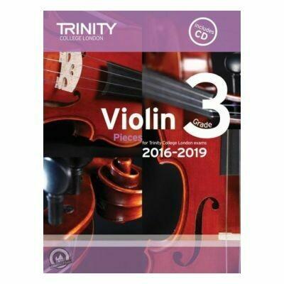 Trinity Violin 2016-2019. Grade 3 (Book with CD)