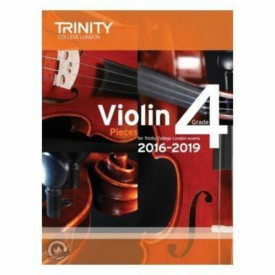 Trinity Violin 2016-2019. Grade 4 (Book with Part)