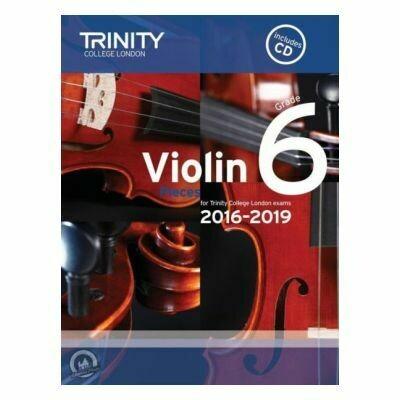Trinity Violin 2016-2019. Grade 6 (Book with CD)