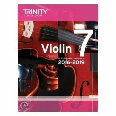 Trinity Violin 2016-2019. Grade 7 (Book with Part)