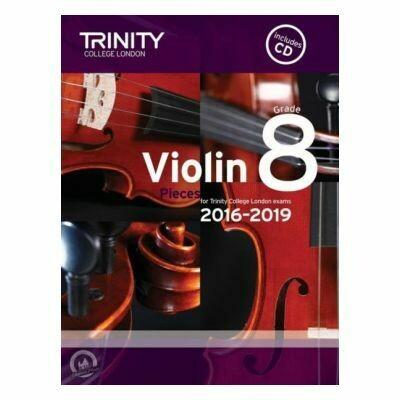 Trinity Violin 2016-2019. Grade 8 (Book with CD)