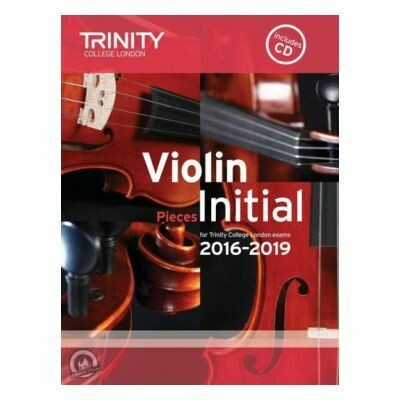 Trinity Violin 2016-2019. Initial (Book with CD)