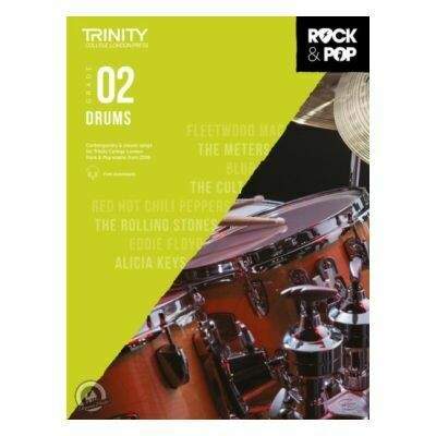 Trinity Rock and Pop 2018 -20 Drums Grade 2 (Book Only)