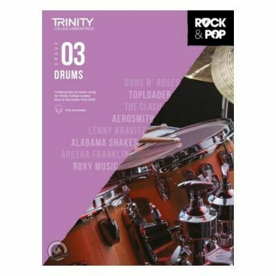 Trinity Rock and Pop 2018 -20 Drums Grade 3 (Book Only)