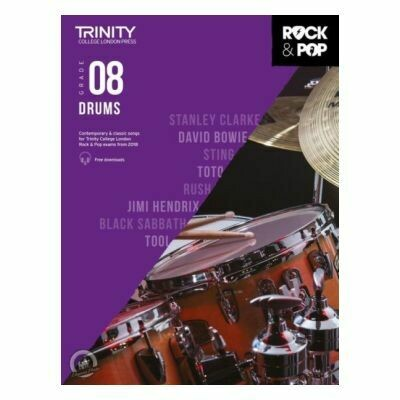 Trinity Rock and Pop 2018 -20 Drums Grade 8 (Book Only)