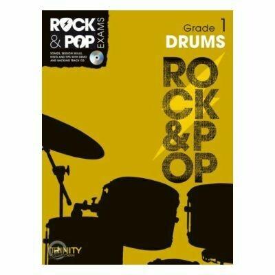 Trinity Rock & Pop Exams: Drums Grade 1 (Book & CD)