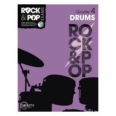 Trinity Rock & Pop Exams: Drums Grade 4 (Book & CD)