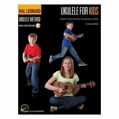 The Hal Leonard Ukulele Method: Ukulele for Kids (With Online Audio)