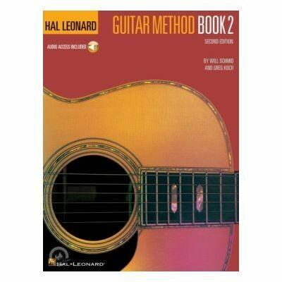 Hal Leonard Guitar Method Book 2 Second Edition (with Online Audio)