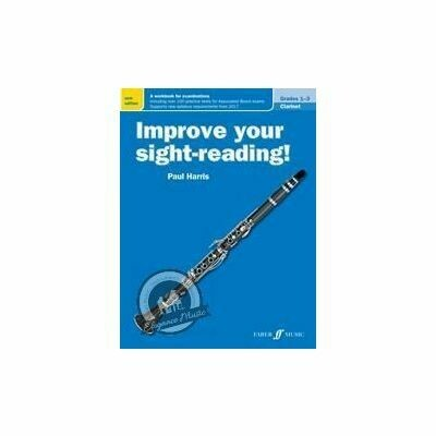 Improve Your Sight-reading! Clarinet Grade 1-3 (New)