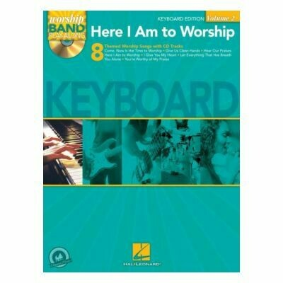 Here I Am To Worship - Keyboard Edition (Worship Band Playalong