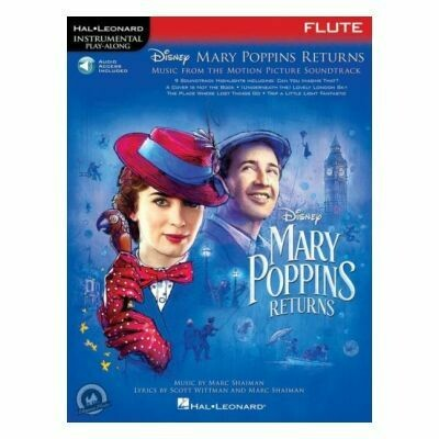 Mary Poppins Returns for Flute (with Audio-Online)