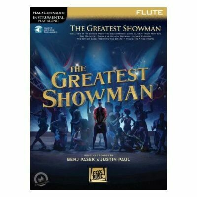 The Greatest Showman - Flute (with Audio-Online)