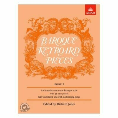 Baroque Keyboard Pieces, Book I (easy)