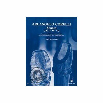 Corelli Sonate F Op.5/10 for Soprano Recorder and Piano