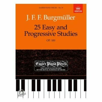 Friedrich Burgmuller: 25 Easy And Progressive Studies For Piano Op.100 (ABRSM)