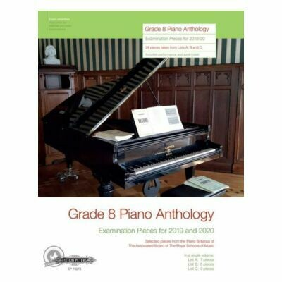 Grade 8 Piano Anthology, Examination Pieces - for 2019-2020