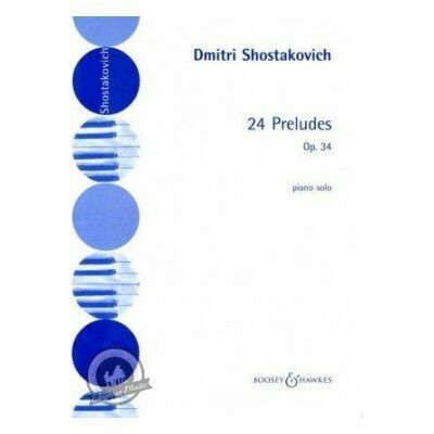 Shostakovich: 24 Preludes, Op. 34