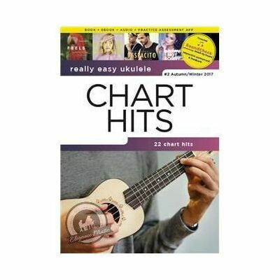 Really Easy Ukulele - Chart Hits - #2 Autumn/Winter 2017 (With Online Audio)