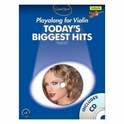 Guest Spot: Playalong for Violin: Today's Biggest Hits (with CD)