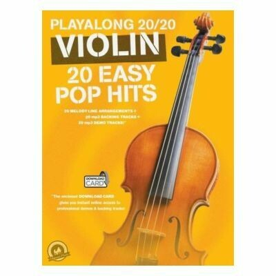Playalong 20/20 Violin: 20 Easy Pop Hits (with Audio-Online)