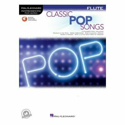 Classic Pop Songs - Flute (with Audio-Online)